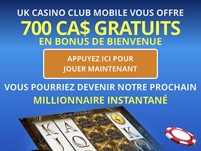 UK casino Club fait gagner aux slots