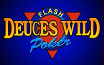 Deuces wild au vidéo poker