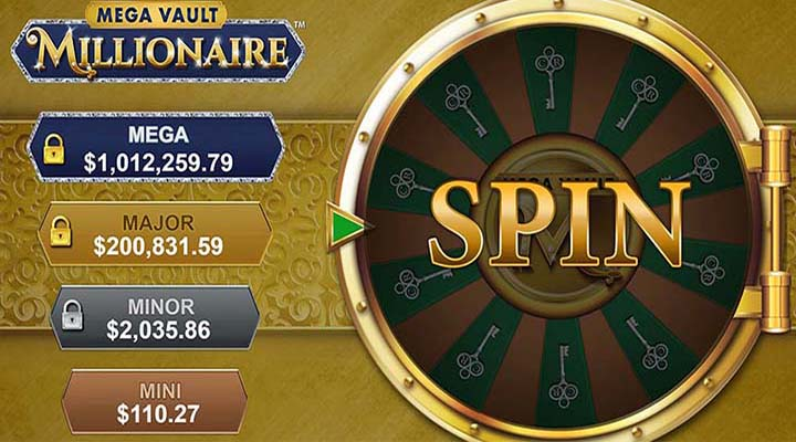 Mega Vault Millionaire - Jackpots de la roue progressive