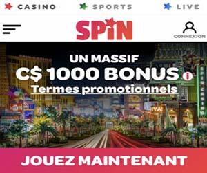 Spin Casino et paris sportifs