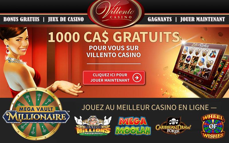 Villento Casino est titré meilleur site de machines à sous en ligne