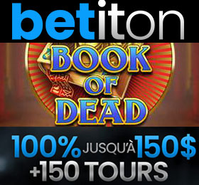 Betiton casino 150 tours