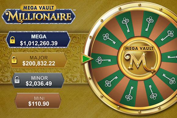 Mega Vault Millionaire - Une des slots machines du site Villento Casino