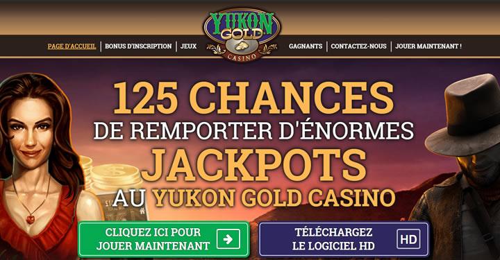 Yukon Gold casino au Québec