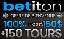 Betiton 2021 tours et bonus