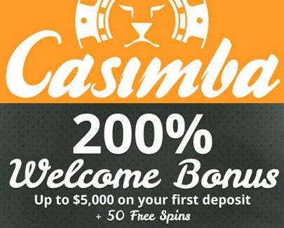 Bonus de bienvenue de Casimba
