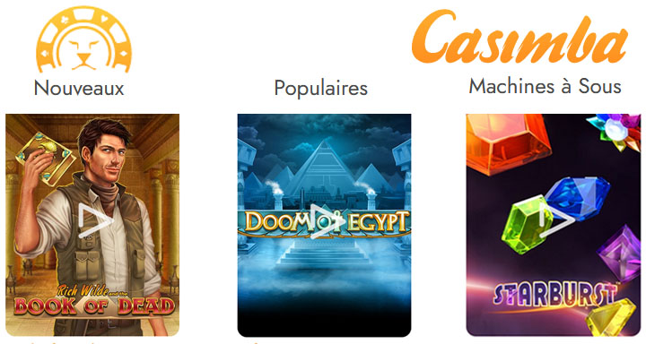 Avis sur Casimba casino