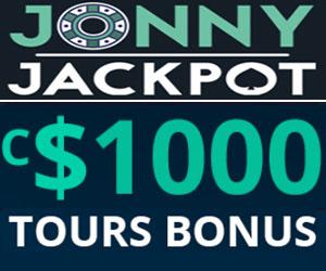 Tours et bonus de Jonny Jackpot
