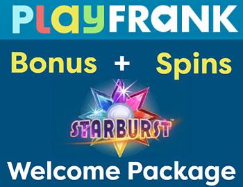 PlayFrank casino et tours