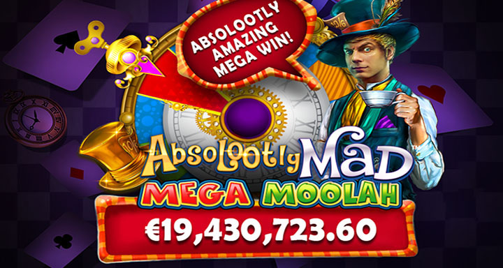 Jackpot du record mondial sur Absolootly Mad