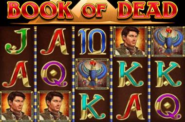 Book of Dead bonus et tours gratuits