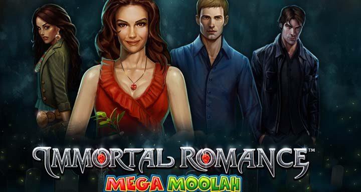 Immortal Romance de la série Mega Moolah