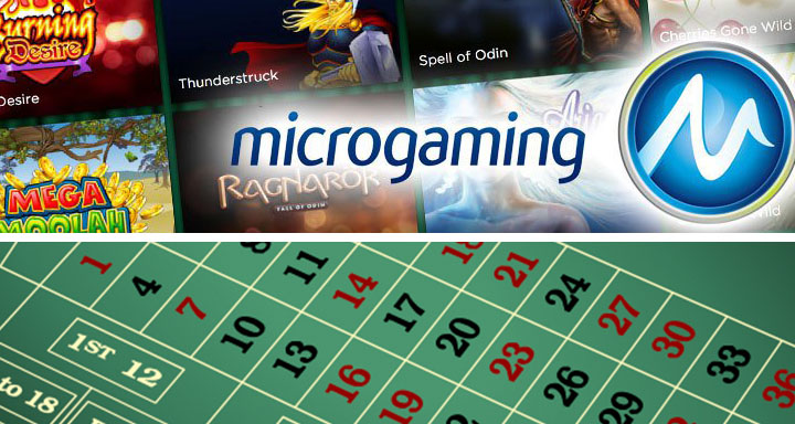 Roulette à jackpot de Microgaming