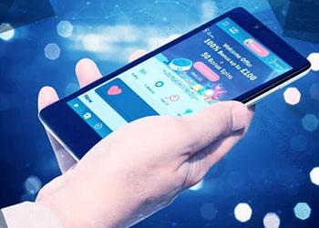 Machines à sous en ligne sur un téléphone mobile
