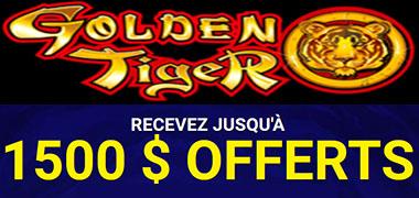 Golden Tiger et bonus de machines à sous