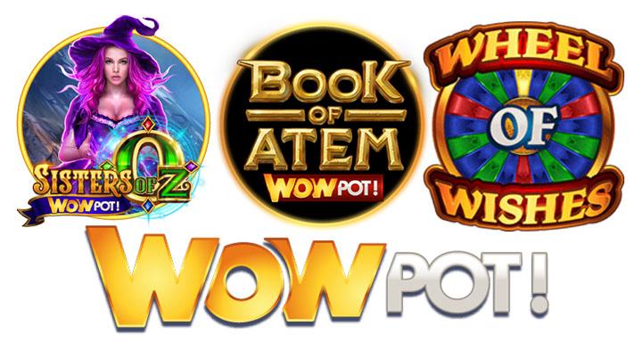 Jeux WowPot slots qui cartonnent