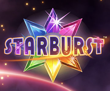 Machine à sous en ligne Starburst chez Trada