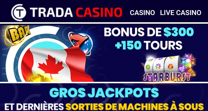 Trada Casino avis et Starburst